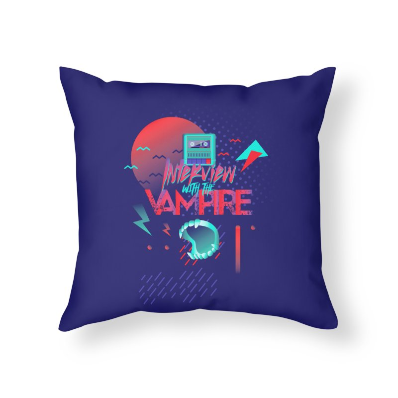 Interview With The Vampire Home Throw Pillow by Jana Artist Shop