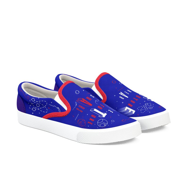 The Future is Mars Women's Slip-On Shoes by Jana Artist Shop