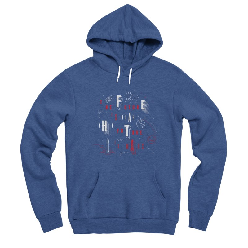 The Future is Mars Men's Pullover Hoody by Jana Artist Shop