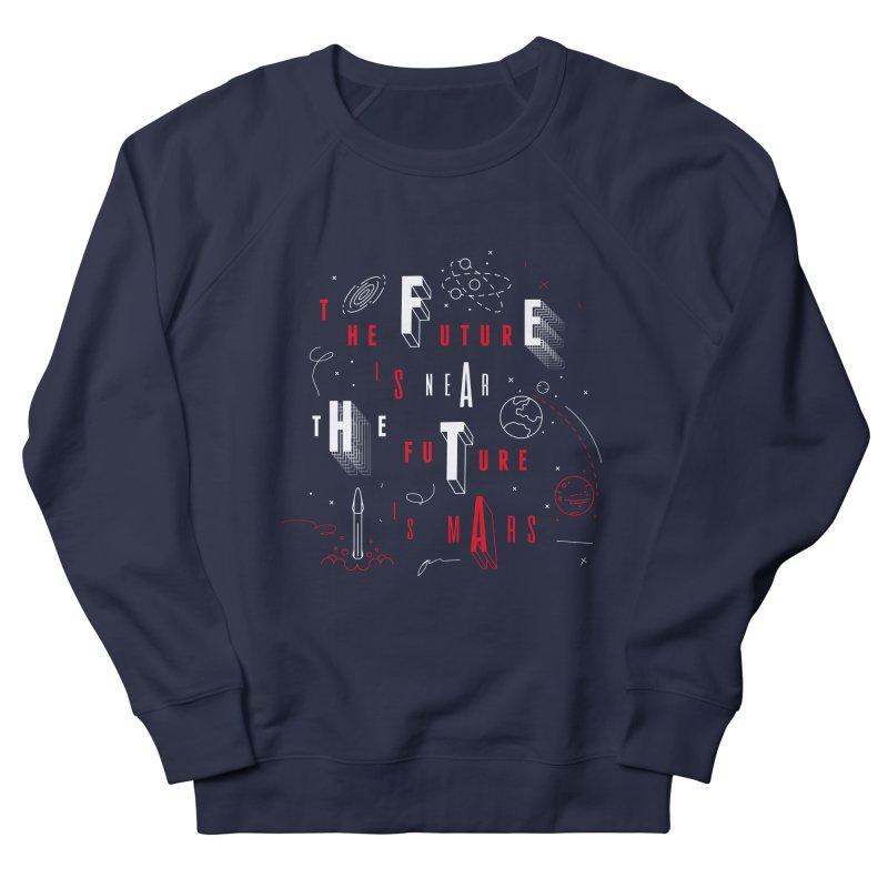 The Future is Mars Men's Sweatshirt by Jana Artist Shop