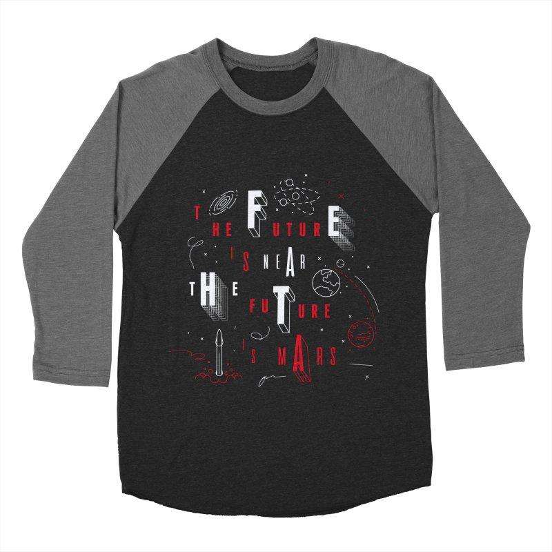 The Future is Mars Men's Baseball Triblend T-Shirt by Jana Artist Shop