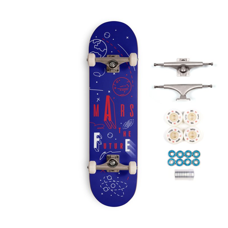 The Future is Mars Accessories Complete - Premium Skateboard by Jana Artist Shop