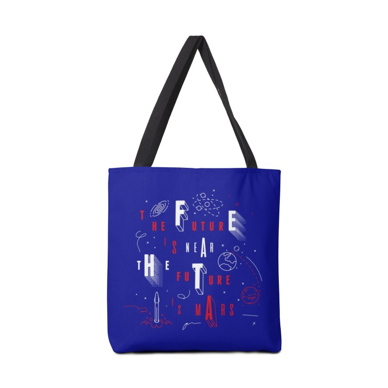 The Future is Mars Accessories Bag by Jana Artist Shop