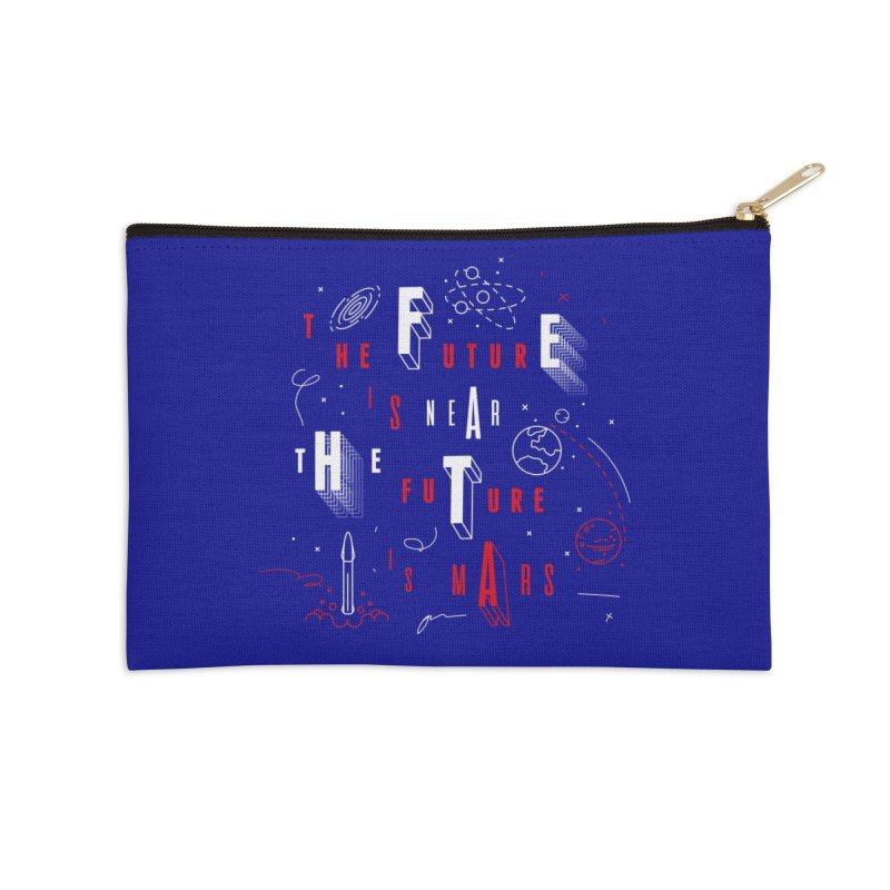 The Future is Mars Accessories Zip Pouch by Jana Artist Shop