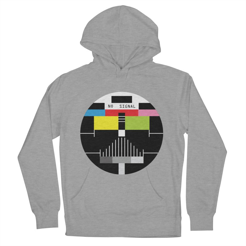 The Dark Side of the TV Men's Pullover Hoody by Jana Artist Shop