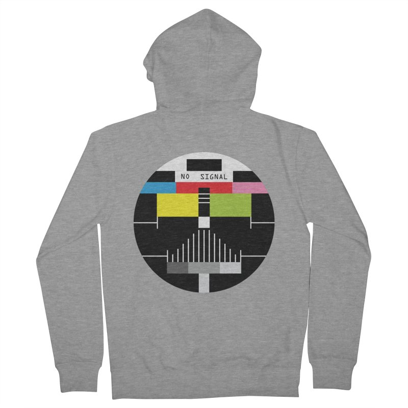 The Dark Side of the TV Men's Zip-Up Hoody by Jana Artist Shop