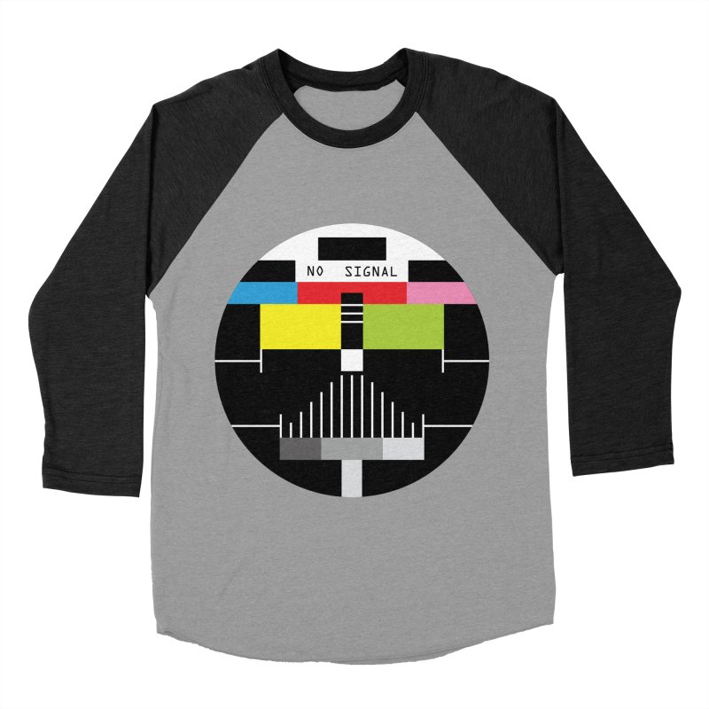 The Dark Side of the TV Men's Baseball Triblend T-Shirt by Jana Artist Shop