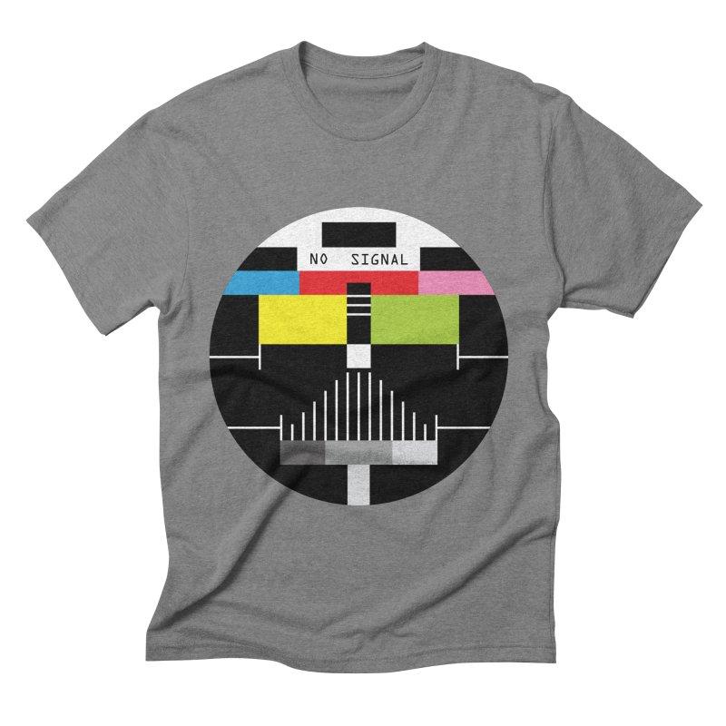The Dark Side of the TV Men's Triblend T-shirt by Jana Artist Shop