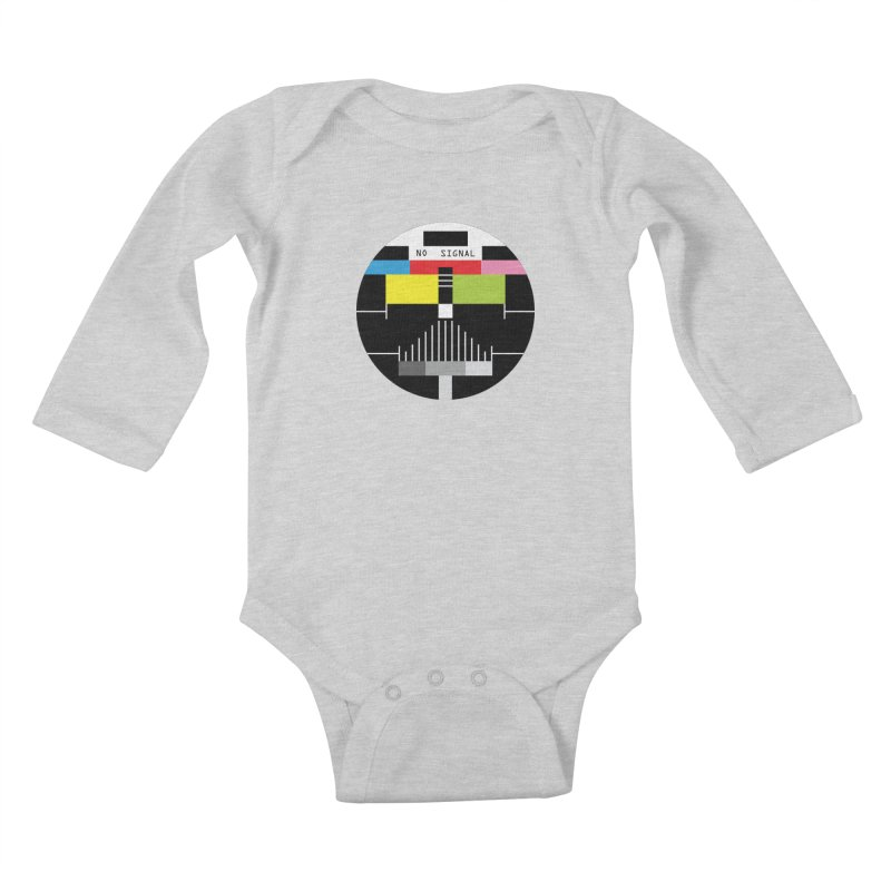 The Dark Side of the TV Kids Baby Longsleeve Bodysuit by Jana Artist Shop