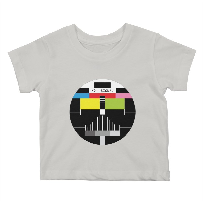 The Dark Side of the TV Kids Baby T-Shirt by Jana Artist Shop
