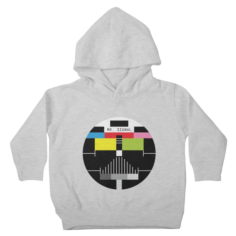 The Dark Side of the TV Kids Toddler Pullover Hoody by Jana Artist Shop