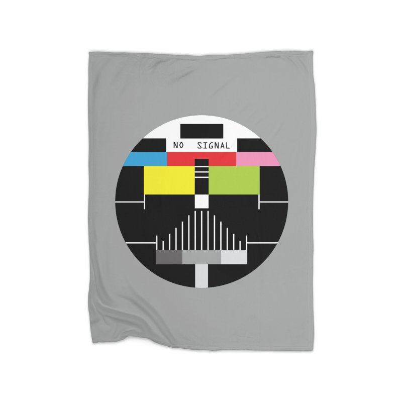 The Dark Side of the TV Home Blanket by Jana Artist Shop