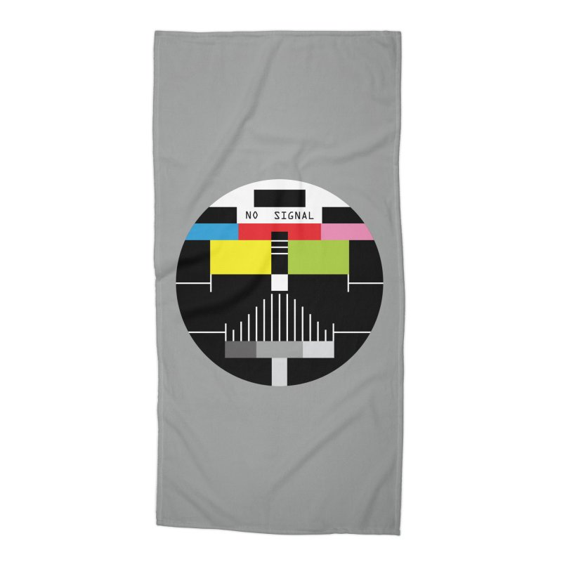 The Dark Side of the TV Accessories Beach Towel by Jana Artist Shop