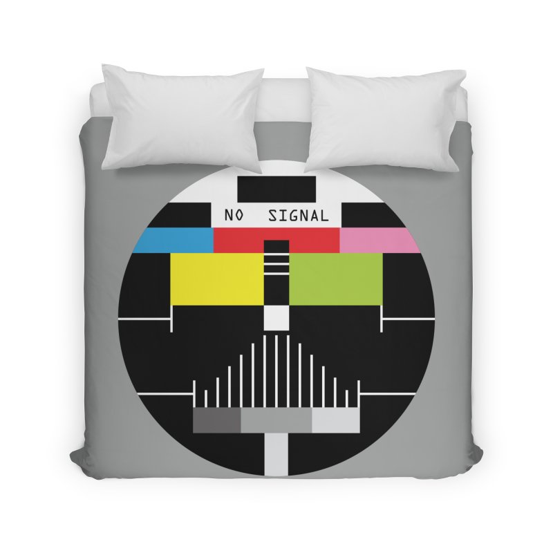 The Dark Side of the TV Home Duvet by Jana Artist Shop