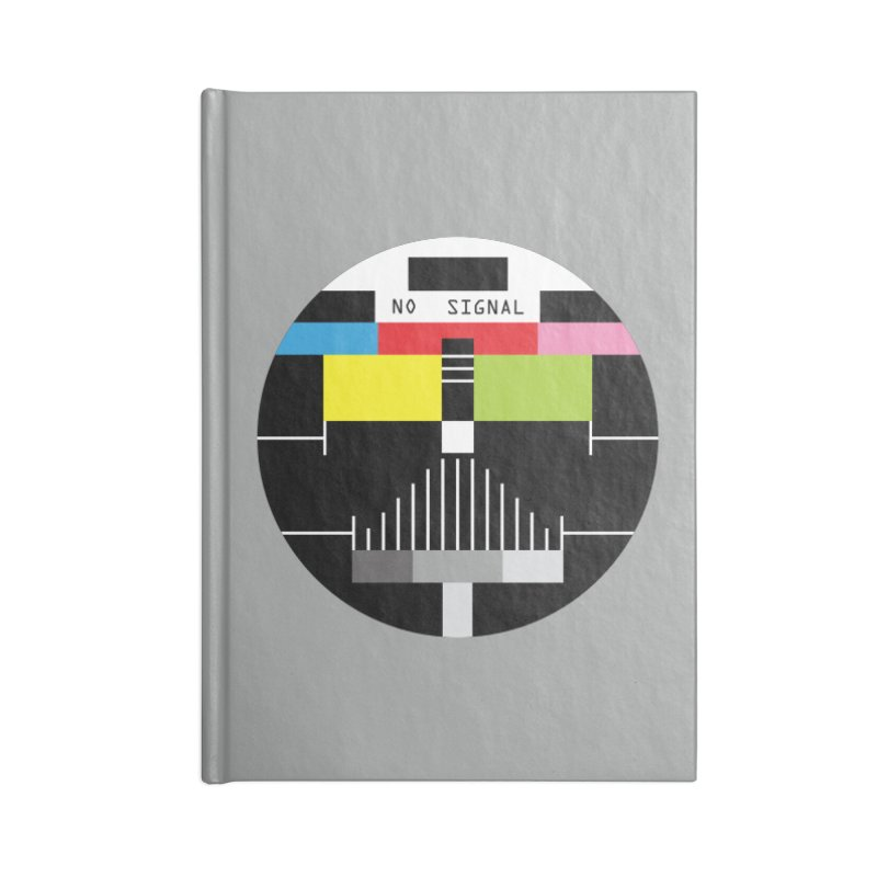 The Dark Side of the TV Accessories Notebook by Jana Artist Shop