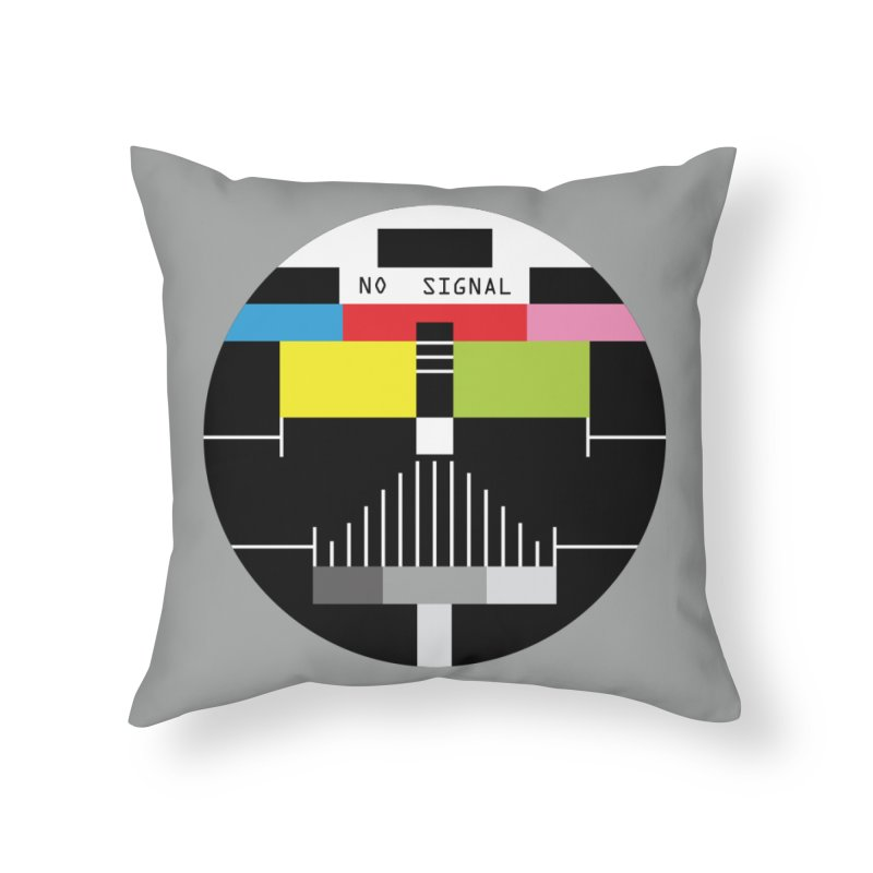 The Dark Side of the TV Home Throw Pillow by Jana Artist Shop