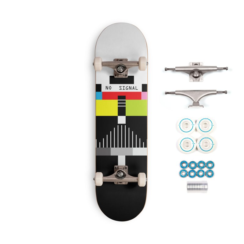 The Dark Side of the TV Accessories Skateboard by Jana Artist Shop