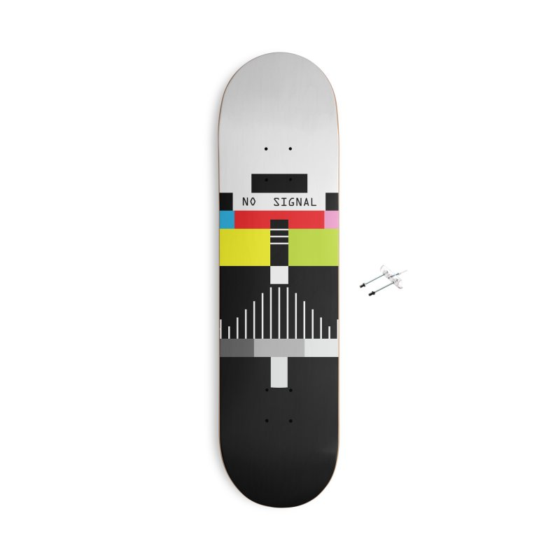 The Dark Side of the TV Accessories With Hanging Hardware Skateboard by Jana Artist Shop