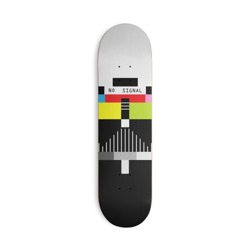 The Dark Side of the TV Accessories Deck Only Skateboard by Jana Artist Shop
