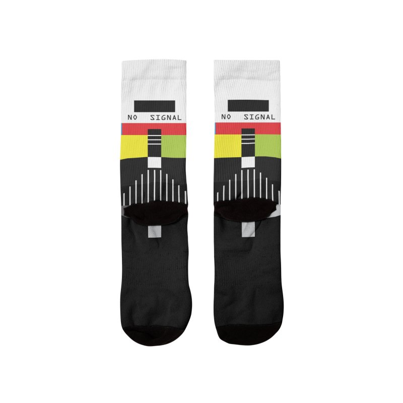 The Dark Side of the TV Men's Socks by Jana Artist Shop