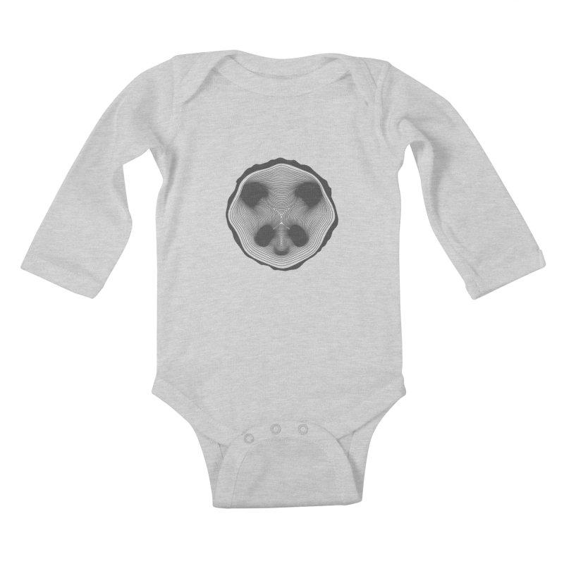 Save the pandas, save the world! Kids Baby Longsleeve Bodysuit by Jana Artist Shop