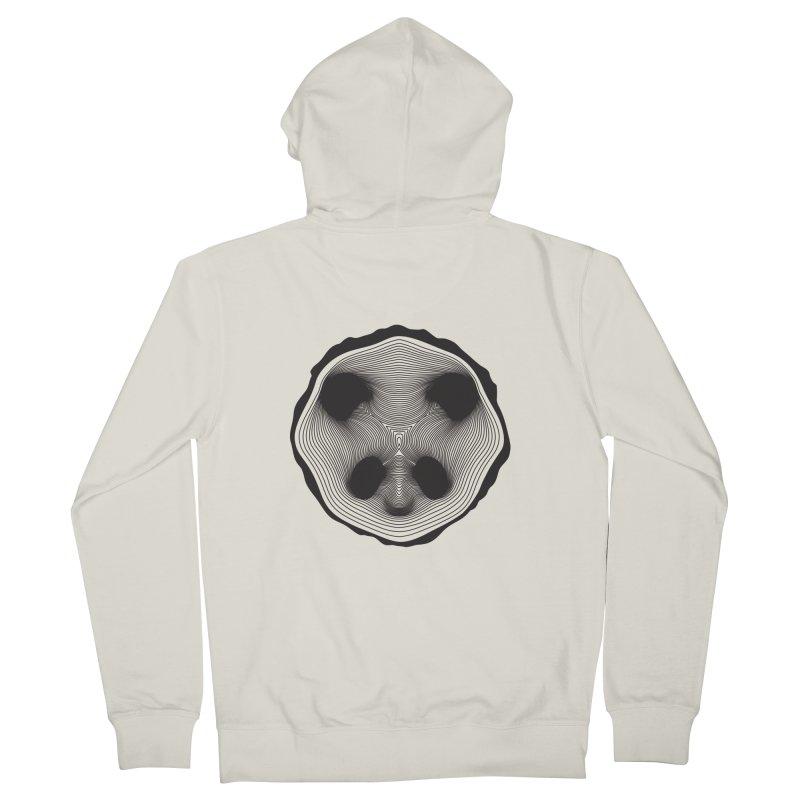 Save the pandas, save the world! Men's Zip-Up Hoody by Jana Artist Shop