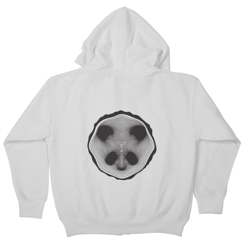 Save the pandas, save the world! Kids Zip-Up Hoody by Jana Artist Shop