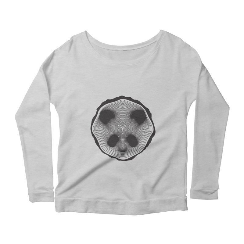 Save the pandas, save the world! Women's Longsleeve Scoopneck  by Jana Artist Shop