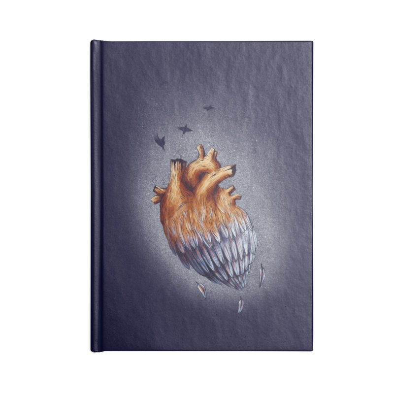 Heartmorphosis Accessories Notebook by Jana Artist Shop