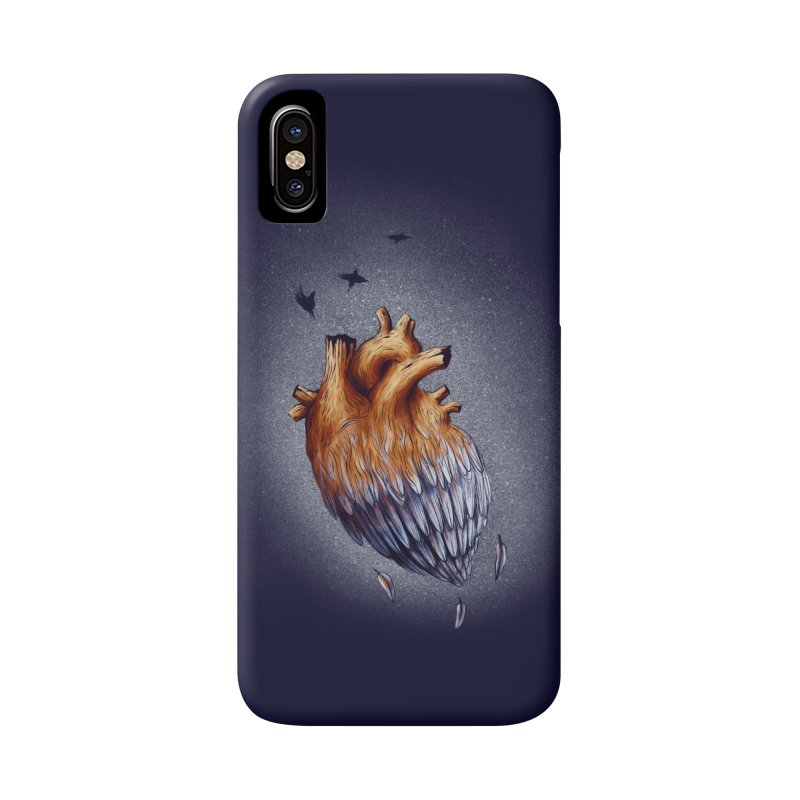 Heartmorphosis Accessories Phone Case by Jana Artist Shop
