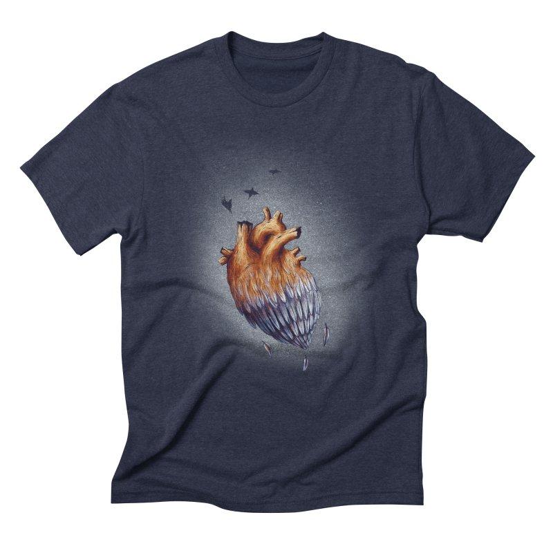 Heartmorphosis Men's Triblend T-Shirt by Jana Artist Shop