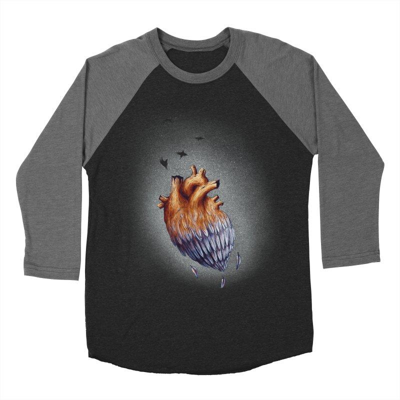 Heartmorphosis Men's Baseball Triblend T-Shirt by Jana Artist Shop