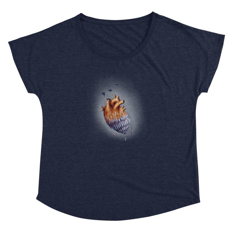Heartmorphosis Women's Dolman by Jana Artist Shop