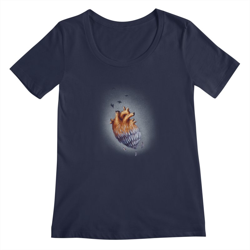 Heartmorphosis Women's Scoopneck by Jana Artist Shop