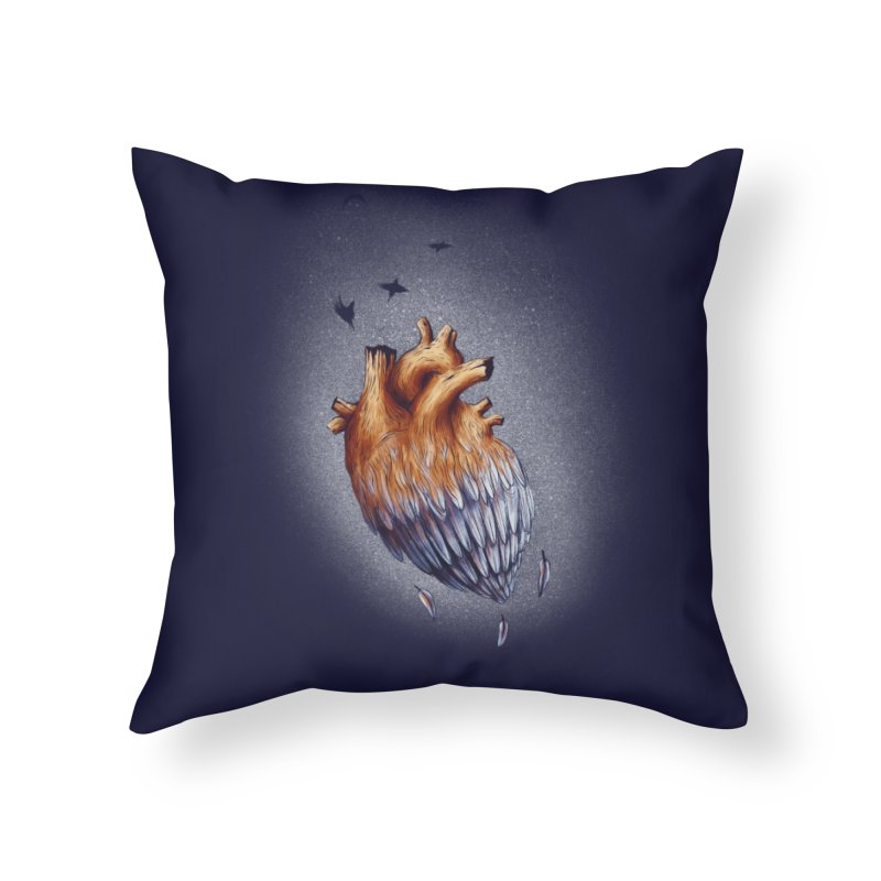 Heartmorphosis Home Throw Pillow by Jana Artist Shop