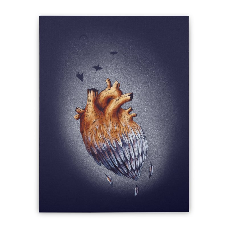 Heartmorphosis Home Stretched Canvas by Jana Artist Shop