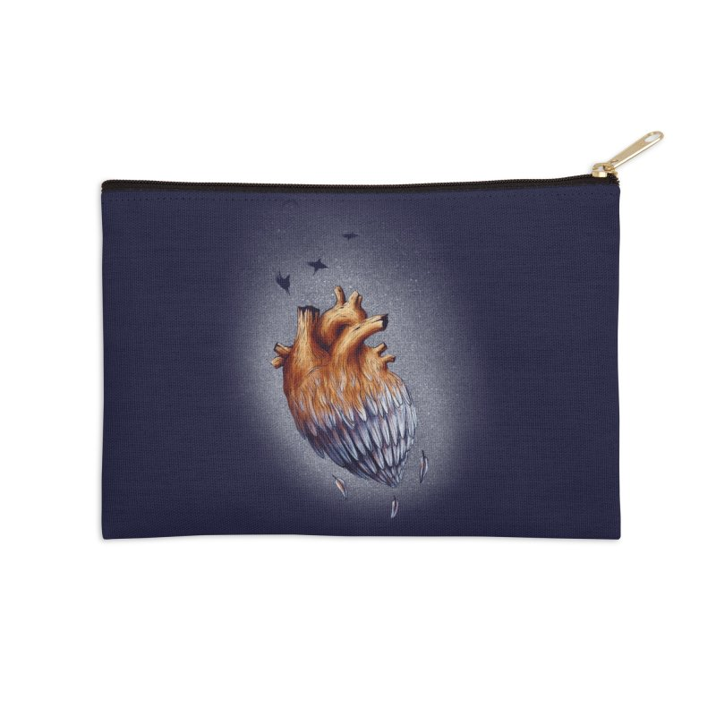 Heartmorphosis Accessories Zip Pouch by Jana Artist Shop