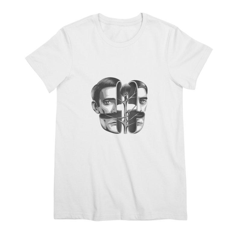 The Metamorphosis of Dale Cooper Women's Premium T-Shirt by Jana Artist Shop