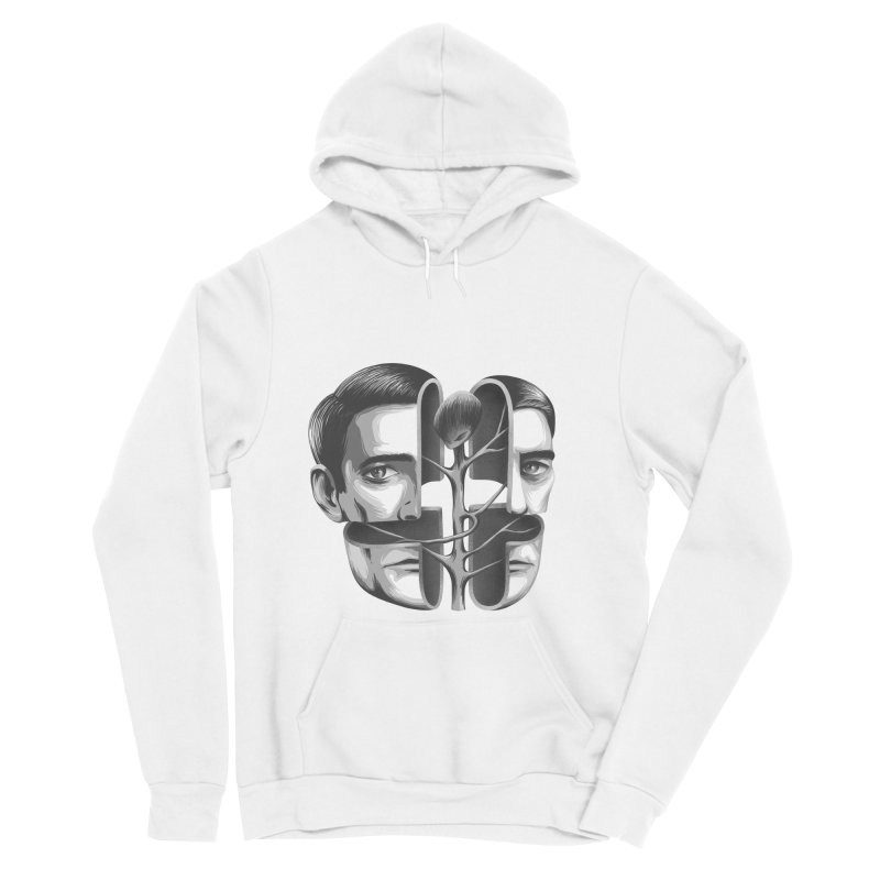 The Metamorphosis of Dale Cooper Women's Sponge Fleece Pullover Hoody by Jana Artist Shop