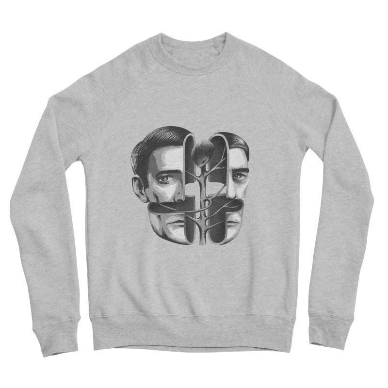 The Metamorphosis of Dale Cooper Men's Sponge Fleece Sweatshirt by Jana Artist Shop
