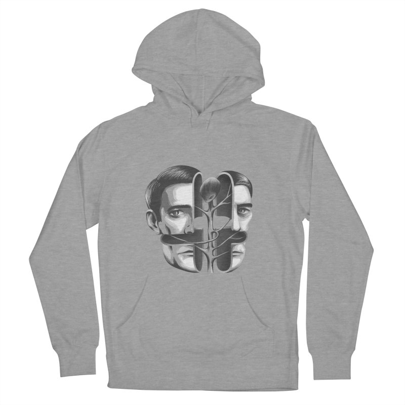 The Metamorphosis of Dale Cooper Men's French Terry Pullover Hoody by Jana Artist Shop