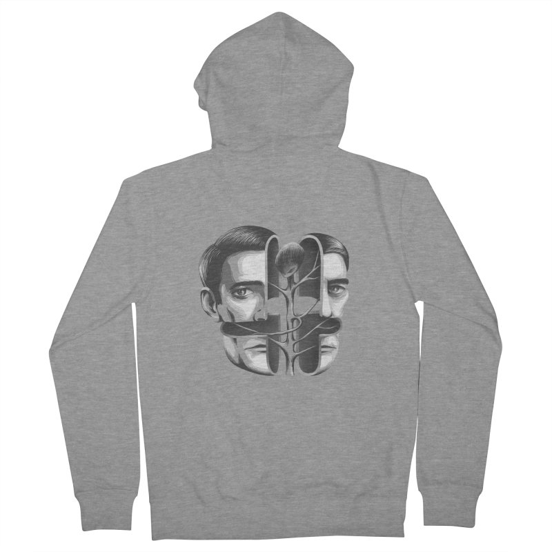 The Metamorphosis of Dale Cooper Women's French Terry Zip-Up Hoody by Jana Artist Shop