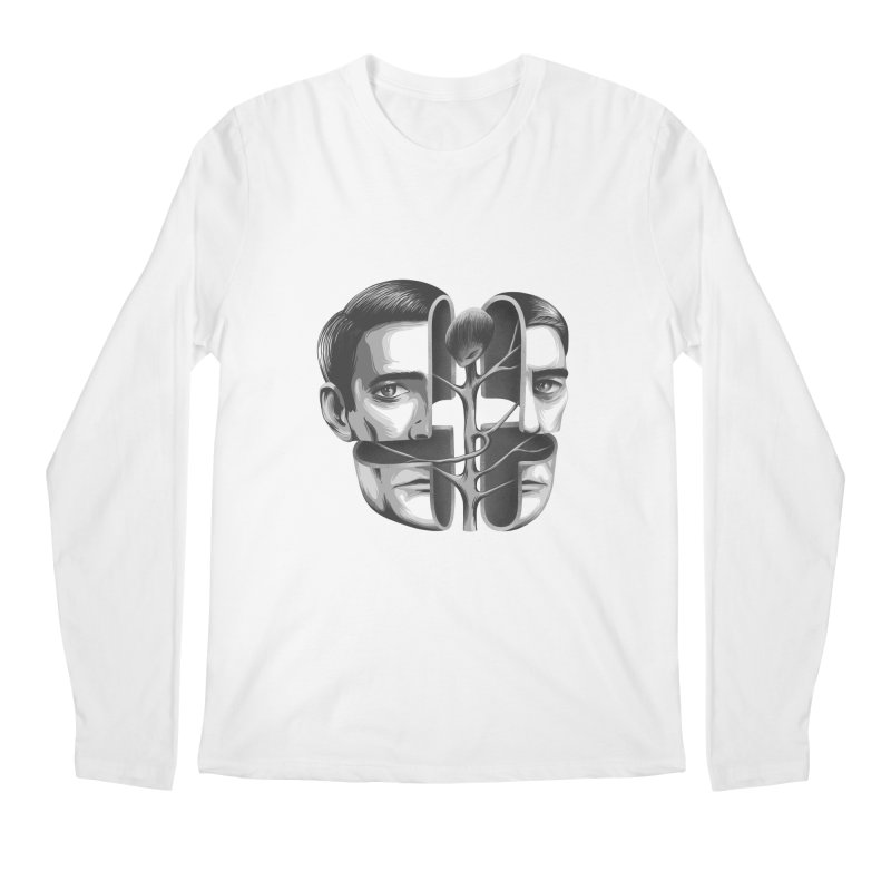 The Metamorphosis of Dale Cooper Men's Regular Longsleeve T-Shirt by Jana Artist Shop