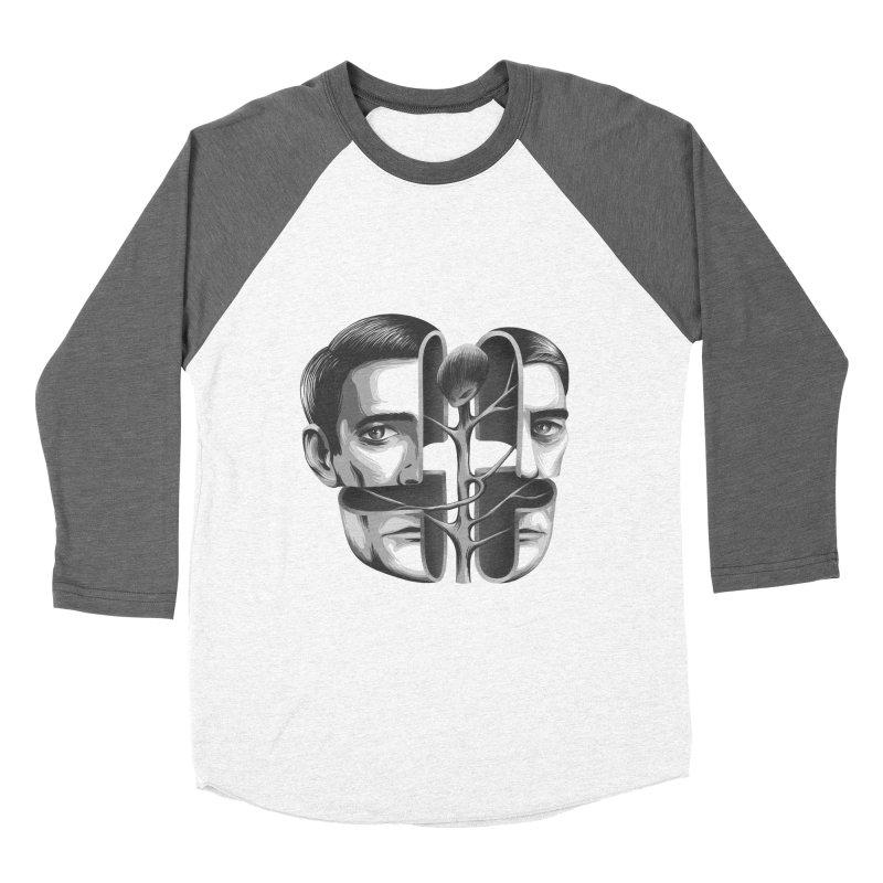 The Metamorphosis of Dale Cooper Men's Baseball Triblend T-Shirt by Jana Artist Shop