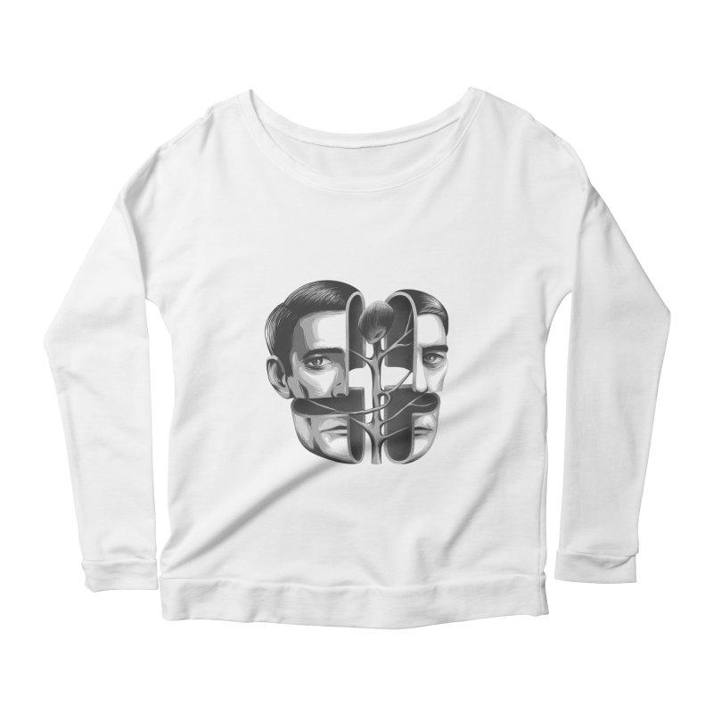 The Metamorphosis of Dale Cooper Women's Scoop Neck Longsleeve T-Shirt by Jana Artist Shop