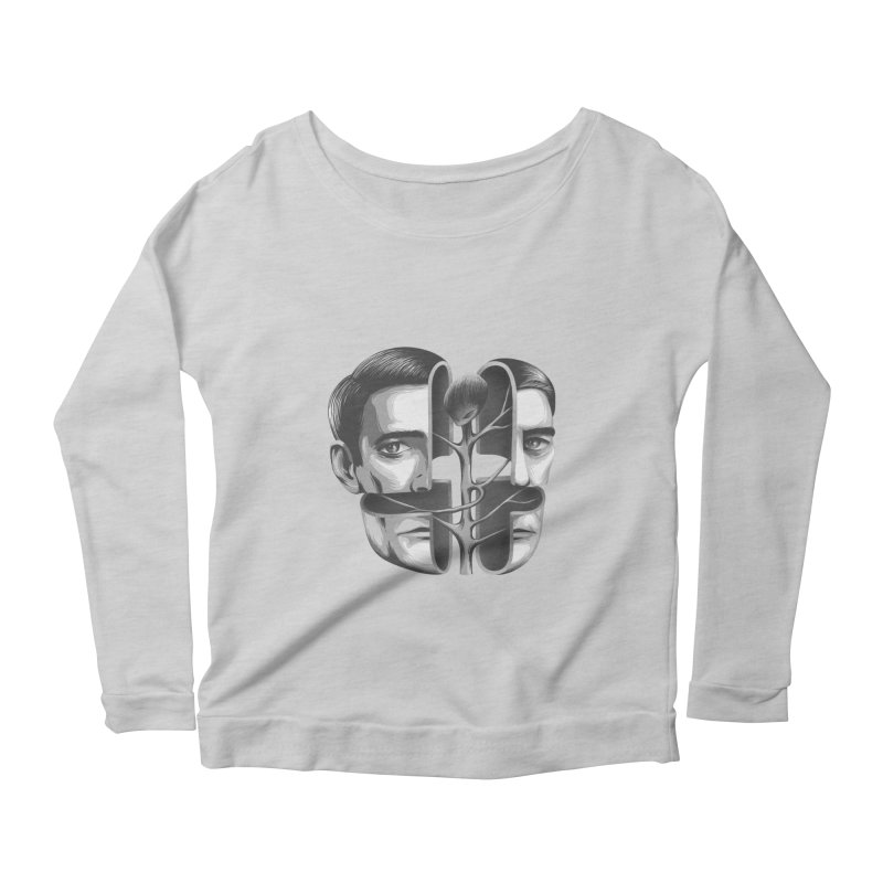 The Metamorphosis of Dale Cooper Women's Longsleeve Scoopneck  by Jana Artist Shop
