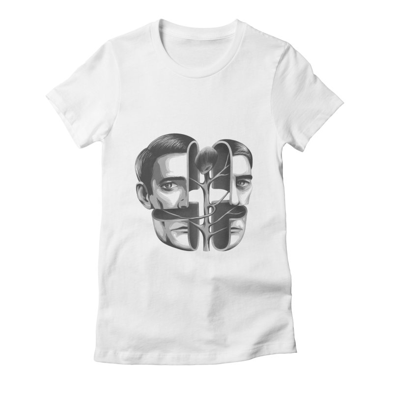 The Metamorphosis of Dale Cooper Women's Fitted T-Shirt by Jana Artist Shop