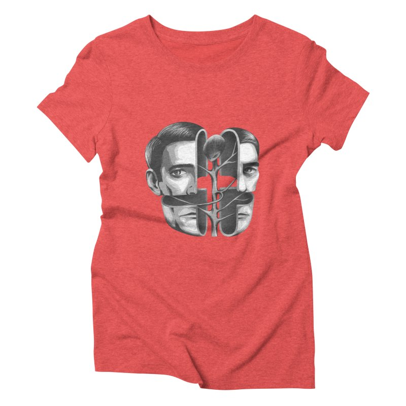 The Metamorphosis of Dale Cooper Women's Triblend T-Shirt by Jana Artist Shop