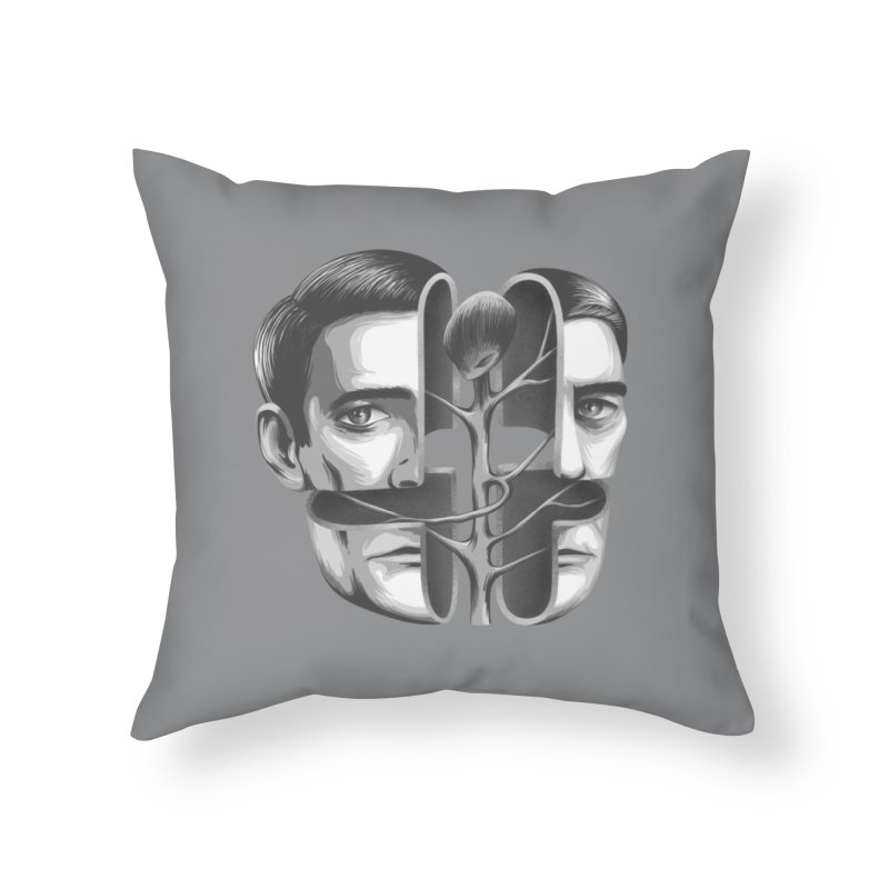 The Metamorphosis of Dale Cooper Home Throw Pillow by Jana Artist Shop