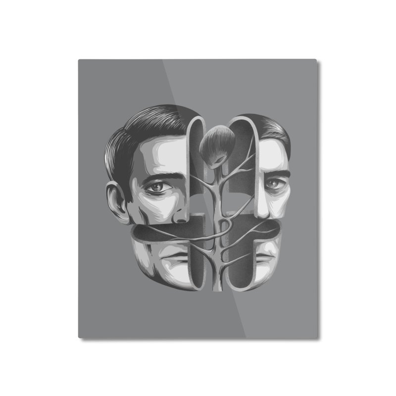 The Metamorphosis of Dale Cooper Home Mounted Aluminum Print by Jana Artist Shop